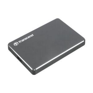 Transcend StoreJet J25C3N 1TB USB 3.0 Ultra Slim Iron Gray External HDD