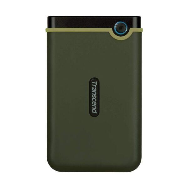 Transcend Storejet 25M3 2TB USB 3.1 Military Green (Slim) External HDD