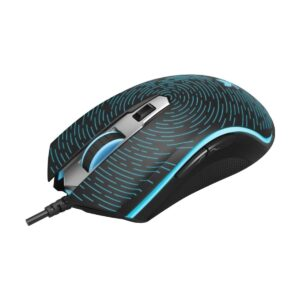 Rapoo V12 Wired Black Optical Gaming Mouse