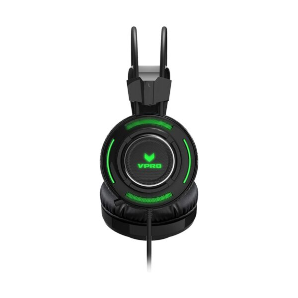 Rapoo VPRO VH600 Virtual 7:1 Channels RGB Wired Black Gaming Headset