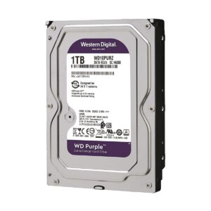 Western Digital Purple 1TB 3.5 Inch SATA 5400RPM Surveillance HDD
