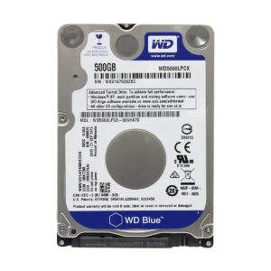 Western Digital Blue 500GB SATA 5400RPM 2.5 Inch Notebook HDD