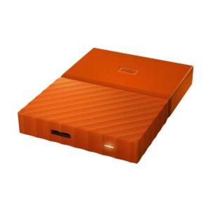 Western Digital 1TB My Passport USB 3.0 Orange External HDD