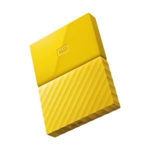 Western Digital 1TB My Passport USB 3.0 Yellow External HDD