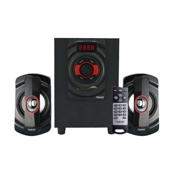 Digital X X-L276BT 2:1 Bluetooth Black Speaker
