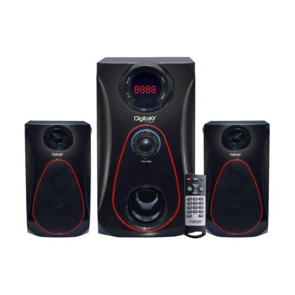 Digital X X-L790BT 2:1 Bluetooth Black Speaker Price in BD