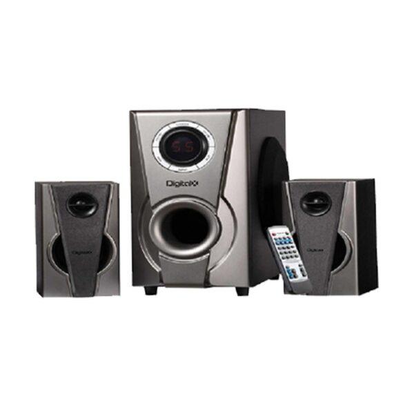 Digital X X-M908BT 2:1 Bluetooth Black Speaker
