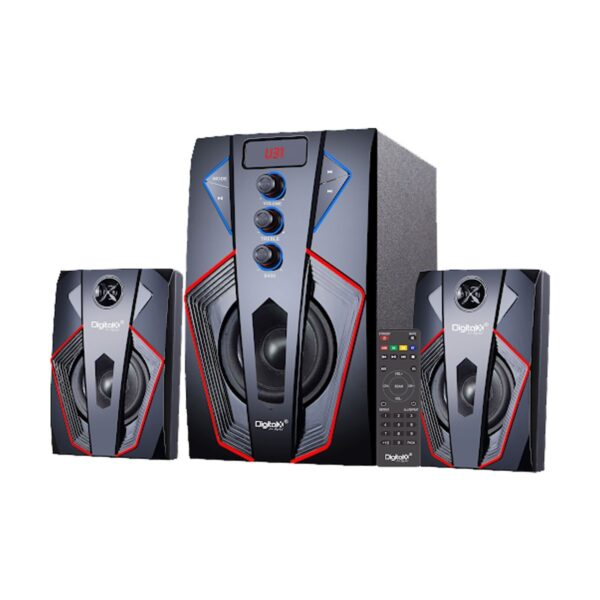 Digital X X-Y784BT 2:1 Bluetooth Black Speaker