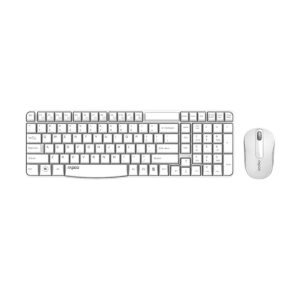 Rapoo X1800S White Wireless Keyboard & Mouse Combo with Bangla