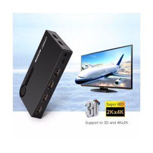 Ugreen 5 x 1 HDMI Black Switch