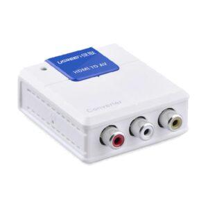 Ugreen HDMI to AV White Converter