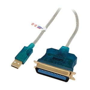 USB Male To Parallel, 3 Meter, Printer Cable