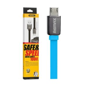 Remax RC-015m USB Male to Micro USB 1 Meter Blue Data Cable
