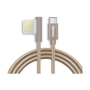 Remax USB Male to Type-C 1 Meter Gold Data Cable