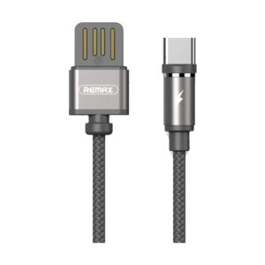 USB Male to Type-C, 1 Meter, Black Charging Cable