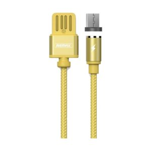USB Male to Micro USB, 1 Meter, Gold Charging Cable