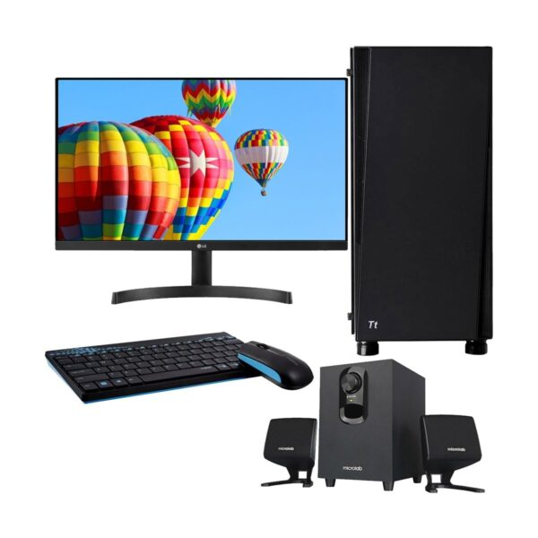 Gaming PC-i999K 9th Gen Intel Core i9 9900K 3.6GHz, Z390 Chipset, 16GB 3200MHz, 512GB SSD + 2TB HDD, RTX2080 8GB Gr, 24in Monitor, Gaming Headphone, Gaming KB and Mou