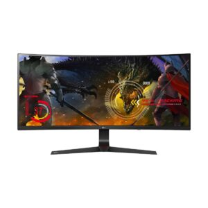 LG 34UC89G-B 34 Inch Class 21:9 UltraWide Full HD IPS Curved LED 2K Gaming Monitor