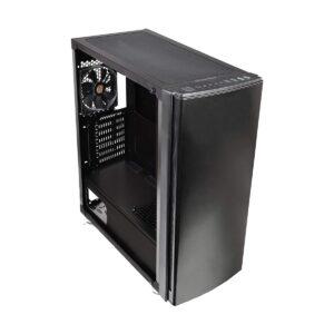 Thermaltake Versa H27 Tempered Glass Side Window Mid Tower Black Gaming Desktop Case