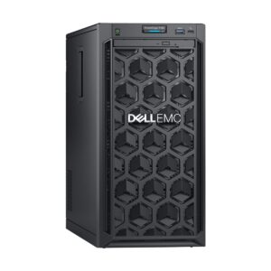 Dell PowerEdge T140 Tower Server with Intel Xeon E-2124 (3.3GHz, 8M cache, 4C/4T, turbo (71W)) Processor, Intel C226 Chipset, 8GB (1x 8GB) DDR4 2666MT/s ECC UDIMM (4 DIMM Slots, Max 64GB), 2 x 1TB 7.2K RPM SATA 6Gbps 3.5in Cabled Hard Drive (4x 3.5in HDD