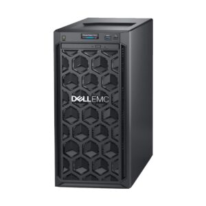 Dell PowerEdge T140 Tower Server with Intel Xeon E-2124 (3.3GHz, 8M cache, 4C/4T, turbo (71W)) Processor, Intel C226 Chipset, 16GB (1x 16GB) DDR4 ECC UDIMM (4 DIMM Slots, Max 64GB), 2 x 1TB 7.2K RPM SATA 6Gbps 3.5in Cabled Hard Drive (4x 3.5in HDD Bay), P