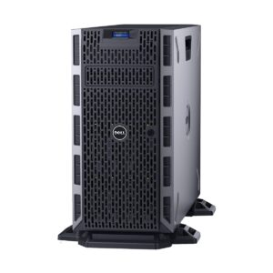 Dell PowerEdge T330 Tower Server with 1x Intel Xeon E3-1220 v6 3.0GHz, 8M 4 Core processor, 16GB DDR4 UDIMM 2133MHz Memory (4x RAM Slot, Max 64GB), PERC H330 RAID Controler, 2x 1TB SATA Hot-Plug Hard Drive (4x 3.5in HDD Bay), Optical DVD +/- RW Drive, Due