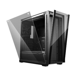 Deepcool MATREXX 70 Mid Tower Black (Tempered Glass) ATX Gaming Casing