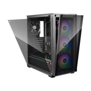 Deepcool MATREXX 70 ADD-RGB 3F Mid Tower Black (Tempered Glass) ATX Gaming Casing