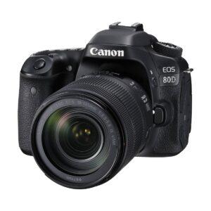 Canon EOS 80D Digital SLR Camera Body with EF-S 18-135mm USM Lens