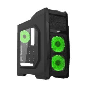 Gamemax G-506 ATX Mid Tower Black Gaming Casing