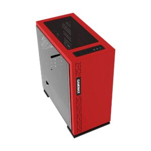 Gamemax H-605-RD Mid Tower Red Gaming Casing