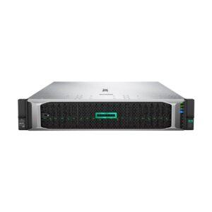 HP DL380 Gen 10 2U Rack Server with 2x Intel Xeon Silver 4110 (2.1GHz, 8 Core, 11MB Cache) Processor, Intel C621 Chipset, 32GB (2x16GB) Dual Rank x8 DDR4-2666 Registered Memory (24 Dimm Slot, Max 3TB), 5 x HPE 600GB 12G SAS 10K SFF (2.5-inch) SC Digitally
