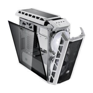 Cooler Master MasterCase HAF H500P Mesh White Mid Tower ATX (Tempered Glass Side Window) Gaming Desktop Case