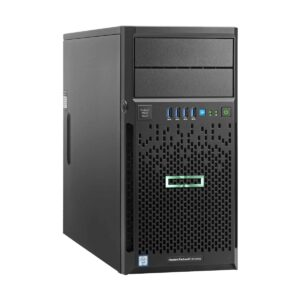 HP Proliant ML30 Gen 10 Tower Server with 1x Intel Xeon E-2124 (3.3GHz/4-core/8MB/71W) Processor, Intel C246 Chipset, HPE 16GB (2x8GB) Single Rank x8 DDR4-2666 Unbuffered Memory (4x Slots, Max 64GB), 2x HPE 1TB 6G SATA 7.2K LFF (3.5in) Non Hotplug HDD (4x