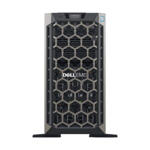 Dell PowerEdge T440 Tower Server with 2x Intel Xeon Silver 4110 (2.1GHz, 8C/16T, 9.6GT/s , 11M Cache, Turbo, HT-85W) Processor, Intel C620 Chipset, 16GB (2x8GB) RDIMM, 2666MT/s, Single Rank (24x DIMM Slot, 3TB Max), 4x 300GB 15K RPM SAS 3.5in Hot-plug Har