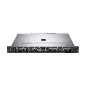 Dell PowerEdge R340 1U Rack Server with Intel Xeon E-2124 (3.3GHz, 4C/4T, 8M Cache, Turbo, 71W) Processor, Intel C246 Chipset, 16GB (1x16GB) UDIMM, 2666MT/s DDR4 ECC (4x DIMM Slot, 64GB Max), 2x 1TB 7.2K RPM NLSAS 12Gbps 512n 2.5in Hot-plug Hard Drive (4