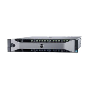 Dell PowerEdge R730 2U Rack Server with 2 x Intel Xeon E5-2620 v3 (2.4GHz, 15M Cache, 6 Core, 85W) Processor, Intel C610 Chipset, 32GB (2x16GB) RDIMM, 2400MT/s, Dual Rank x8 (24 DIMM Slot, Max 384GB), 4 x 1.8TB 10K RPM SAS (8x2.5in HDD BAY), PERC H730 RA