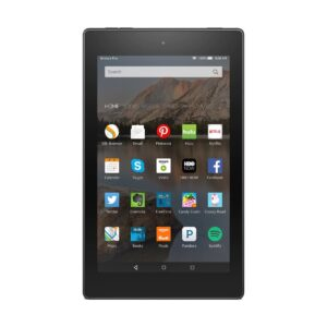Amazon Kindle Fire HD 8 (Quad Core 1.3 GHz, 1.5GB RAM, 16GB Storage, 8 Inch HD Display) Black Tablet with Alexa