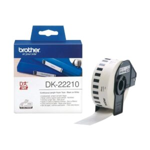 Brother Genuine DK-22210 (29mm X 30m) Continuous Paper Label Roll