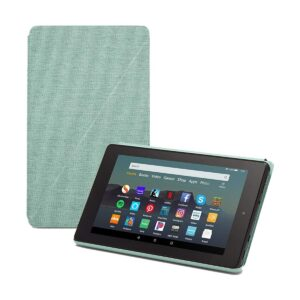 Amazon Fire 7 (9th Gen) (Quad Core 1.3 GHz, 1GB RAM, 16GB Storage, 7 Inch Display) Sage Tablet with Alexa Apps