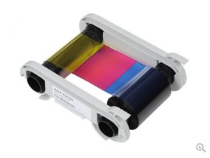 Evolis Color Ribbon without Card (YMCKO) for Badgy200/Badgy100