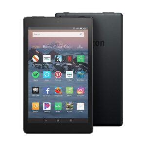 Amazon Kindle fire HD 8 (Quad Core 1.3 GHz, 1.5GB RAM, 32GB Storage, 8 Inch HD Display) Black Tablet with Alexa