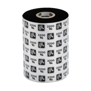 Zebra 3200BK (156x450) Wax/Resin Thermal Transfer Ribbon