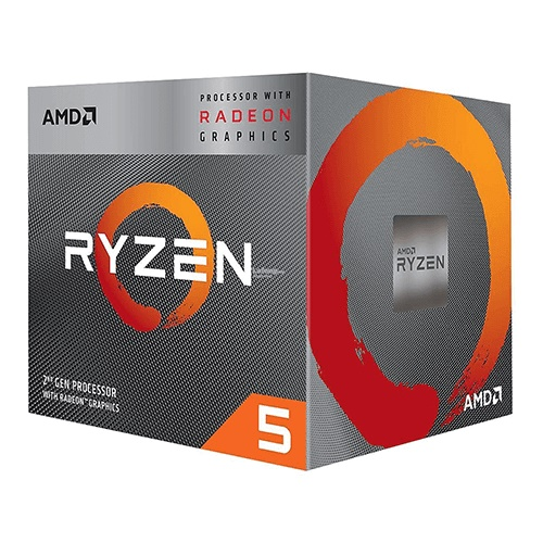 AMD Ryzen 5 3400G Processor with Radeon RX Vega 11 Graphics