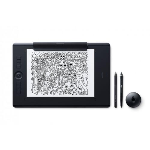 Wacom PTH-860/K1-CX Intuos Pro Large Paper Edition Dimensions 42.6 x 28.4 x 0.8 cm Pen Graphics Tablet