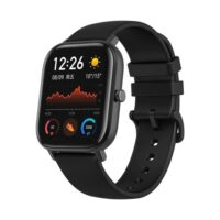 Xiaomi Amazfit GTS A1914 Square Shape Touch Bluetooth Smart Watch Obsidian Black (Global Version)