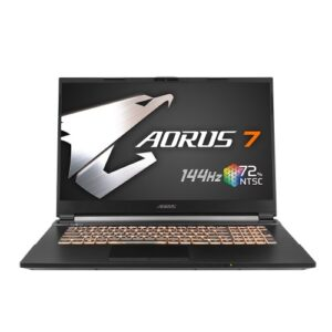 "Gigabyte Aorus 7 KB Core i7 10th Gen RTX 2060 Graphics 17.3"" 144Hz FHD Gaming Laptop"
