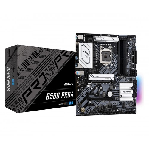 ASRock B560M Pro4 10th and 11th Gen Micro ATX Motherboard