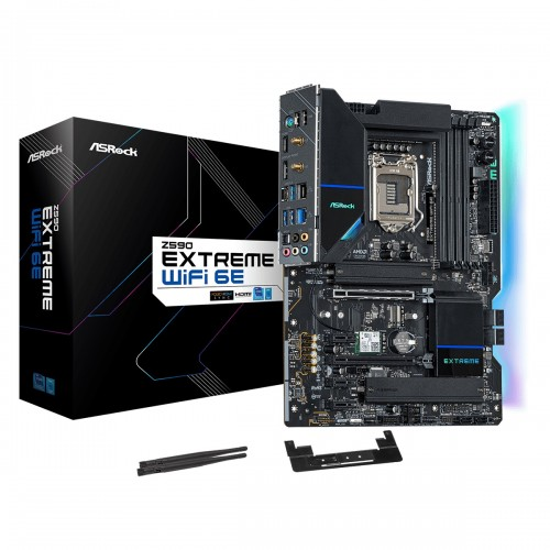 ASRock Z590 Extreme Wi-Fi 6E 10th and 11th Gen ATX Motherboard