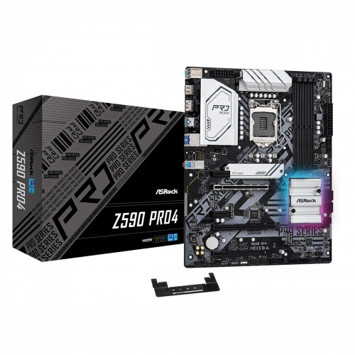 ASRock Z590 Pro4 10th and 11th Gen ATX Motherboard
